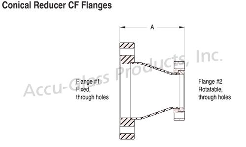 Conical Reducers - CF Flanged