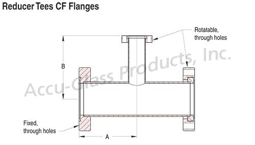 Tee Reducers - CF Flanged