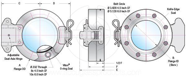 4.5 CF Viewport Access Door Drawing