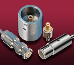Coaxial MHV UHV Connectors