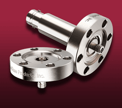 Microdot Coaxial - Feedthroughs on CF Flanges