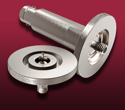 Microdot Coaxial Feedthroughs on ISO KF,LF Flanges