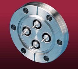 SHV-5 - Grounded Shield Feedthroughs on CF Flanges