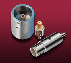 Coaxial SHV-5 UHV Connectors