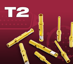 Type - T2 .040 Inch vacuum pins and sockets