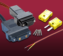 Thermocouple Type-K Subminiature-D Air Side Components