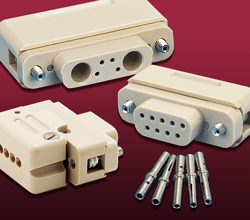 thermocouple Type-K Subminiature-D PEEK Connectors