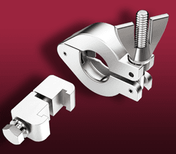 Vacuum Clamps - Single and Double Claw, and Hinged