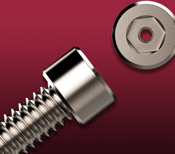 Vented Screws and Fasteners