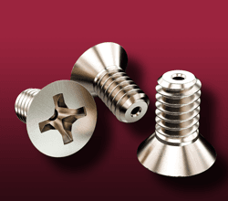 Phillips Flat Head Vented Screws