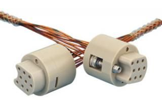 Connector to Connector Extension Cable, Female / UHV Service