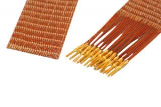 Contact to Cable - 25 Way Male, Kapton