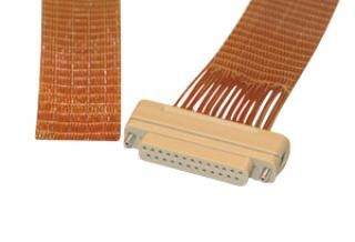 Connector to Cable -  25 Way Female - PEEK, Kapton