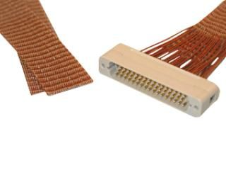 Connector to Cable -  50 Way Male - PEEK, Kapton