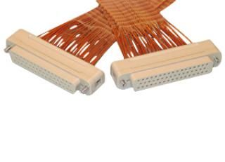 Connector to Connector Extension Cable - 50 Way Female, PEEK, Kapton