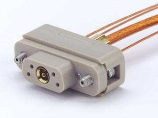 Connector to Cable - 1 Coax, 4 Instrumentation, Female