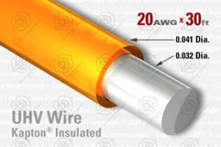 20 AWG - Solid Core Wire, Kapton Insulated
