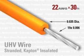 22 AWG - Stranded Core Wire - Kapton Insulated