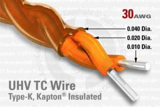 30 AWG - Type-K Thermocouple Wire / Cable