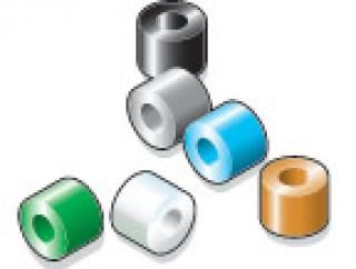 """Color-Coded Identification Beads - 0.040"""" ID"""