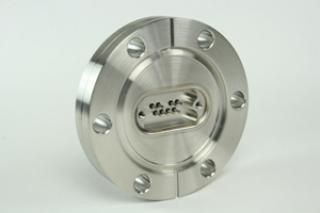 "9D-8TC-275, 4 Pairs of Pins - Thermocouple Feedthrough on a 2.75"" CF Flange"