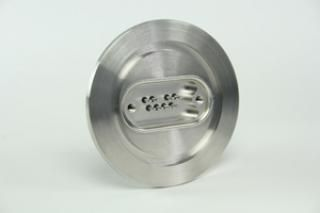 9D-8TC-K40, 4 Pairs of Thermocouple Feedthrough on a KF40 CF Flange