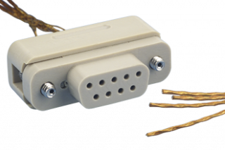 Connector to Cable - 4 Thermocouple Pairs / Female