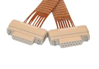 Connector to Connector Extension Cable - 15 Way Female - PEEK