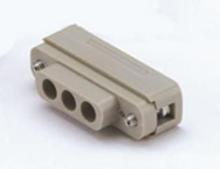 3-Coax - Female - UHV Connector