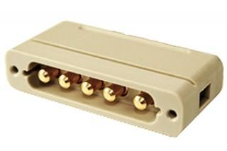 UHV Connector - 5 Power - Male, PEEK Sub-D