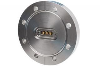 "15D-3P-450, 3-Pin Power Feedthrough on a 4.50"" CF Flange"