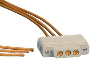 Connector to Cable - 3 Power - Female
