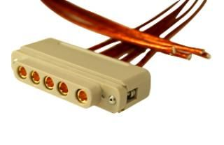 Connector to Cable - 5 Power - Female