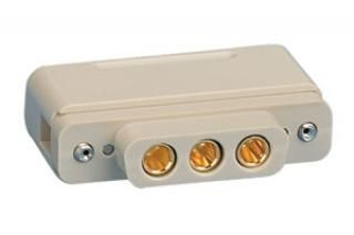 UHV Connector - 3 Power - Female, PEEK Sub-D