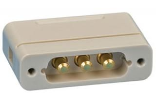 UHV Connector - 3 Power - Male, PEEK Sub-D