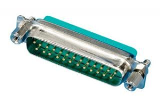 HV Connector - 25D - Male
