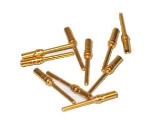 Gold Pins - Male (TYPE: T-2) 25-Pack