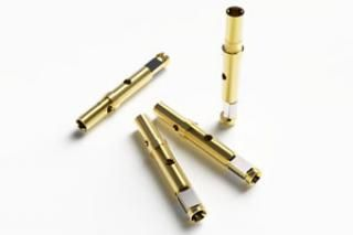 Gold Sockets - Female (TYPE: T-2) 25-Pack