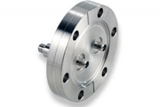 """SMA - Double Ended, Grounded Shield Feedthroughs x2 on a 2.75"""" CF Flange"""