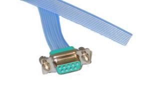 Connector to Cable - 9 Way Female - DAP, FEP
