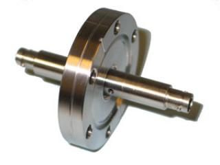 "BNC - Double Ended, Grounded Shield Feedthrough - 2.75"" CF Flange"