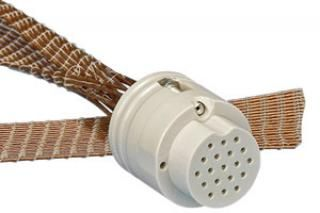 Connector to Cable - 19 Way Female, Circular