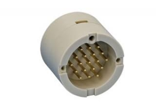 UHV Connector - 19C - Male, Circular PEEK