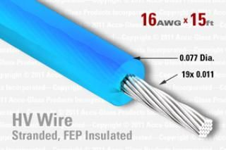 16 AWG - Stranded Core Wire - FEP