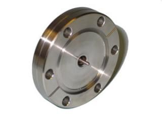 """SMA - Single Ended, Grounded Shield Feedthrough on a 2.75"""" CF Flange"""