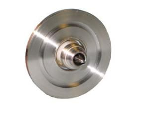 SMA - Single Ended, Floating Shield Feedthrough on a KF40 Flange