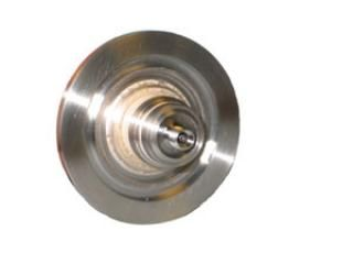 SMA - Double Ended, Floating Shield Feedthrough on a NW40 KF Flange