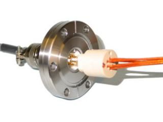 """6CP-KIT-275, 6 Pin Circular Feedthrough Kit and Cables on a 2.75"""" CF Flange"""
