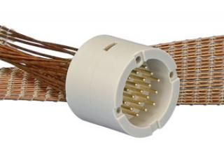 Connector to Cable - 19 Way Male, Circular