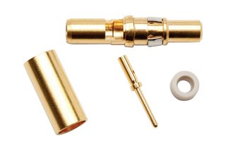 Coax Contact - Male (TYPE: T-4)